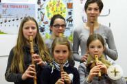 Blockflötenensemble für Kinder und Jugendliche.