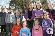 Geben den Ton an: Die Kinder im Kinderchor